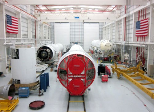 Antares-Core-Stages-at-Wallops-HIF