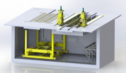 Full Truck Drop Table System