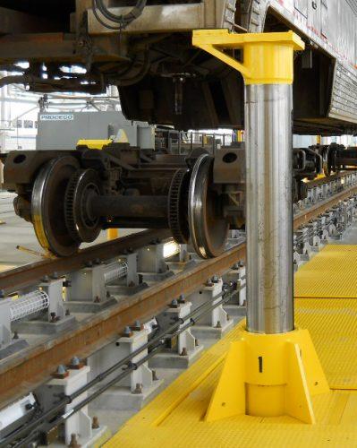 Hydraulic Traversing Jacks