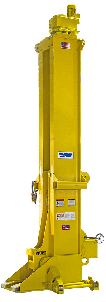 Portable Electric Jack for railcar maintenance and lifting equipment